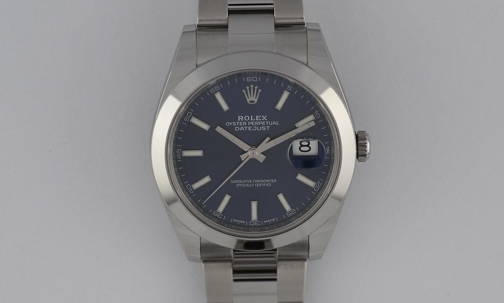 Rolex Datejust 41 126300 Blue Dial