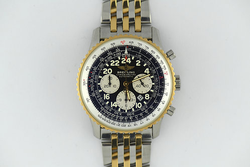 Breitling Navitimer Cosmonaute Flyback Two Tone D22322