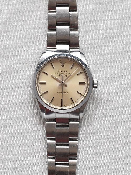Rolex Air-King 5500 1982 Silver Dial