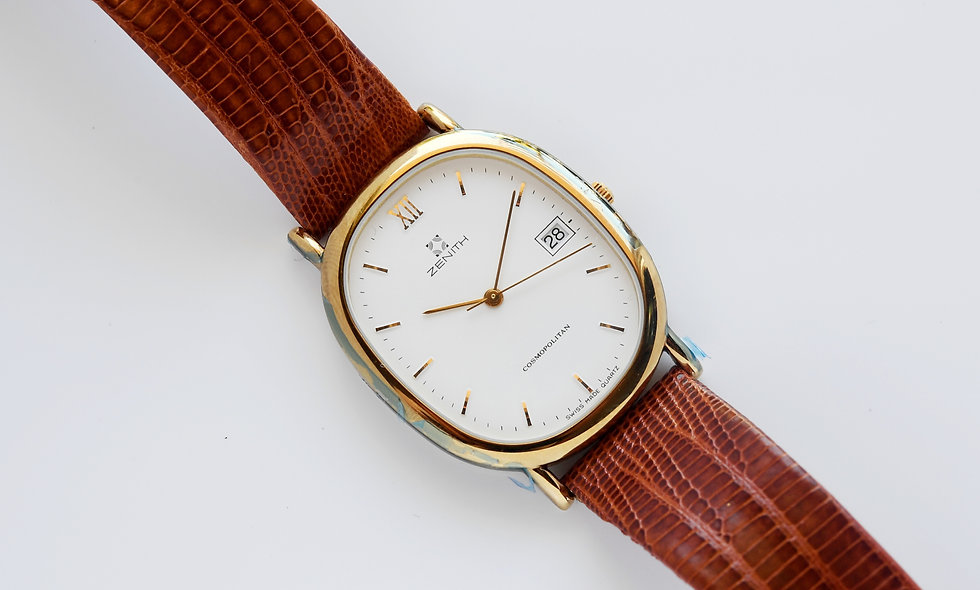 Zenith Ellipse White Dial 27.0120.387 NOS with Box