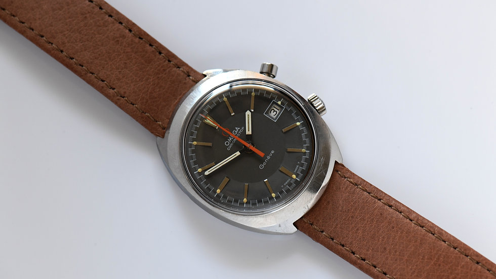 Omega Chronostop Gray Dial 146.010 Unpolished