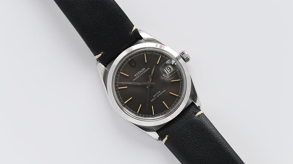 Tudor by Rolex Prince Oysterdate Anthracite Dial 7106/0 1969