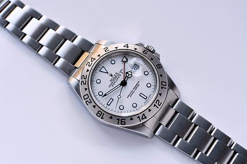 Rolex Explorer II 16570 1993 White Luminova Dial