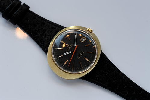 Omega Dynamic Automatic 41mm Matte Black Dial Serviced