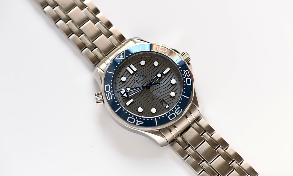 Omega Seamaster Ceramic 300 Co-Axial 42mm Chronometer Box Papers
