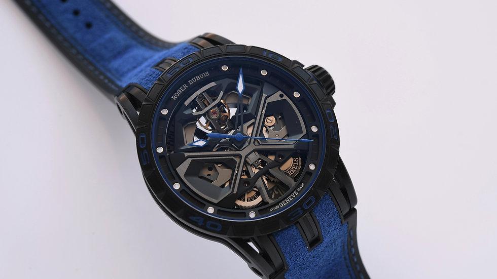 Roger Dubuis Excalibur Huracan Blue 90390
