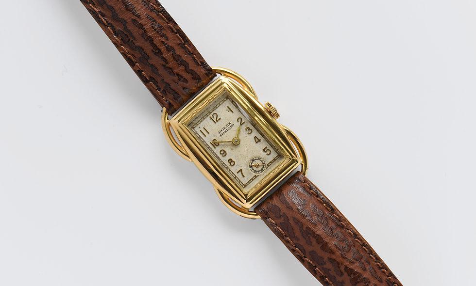 Rolex Standard Manual Wind Gold Plated 1939 23x30mm