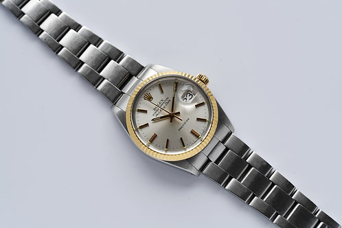 Rolex Air King Date 5701 Two Tone 1988 with Papers