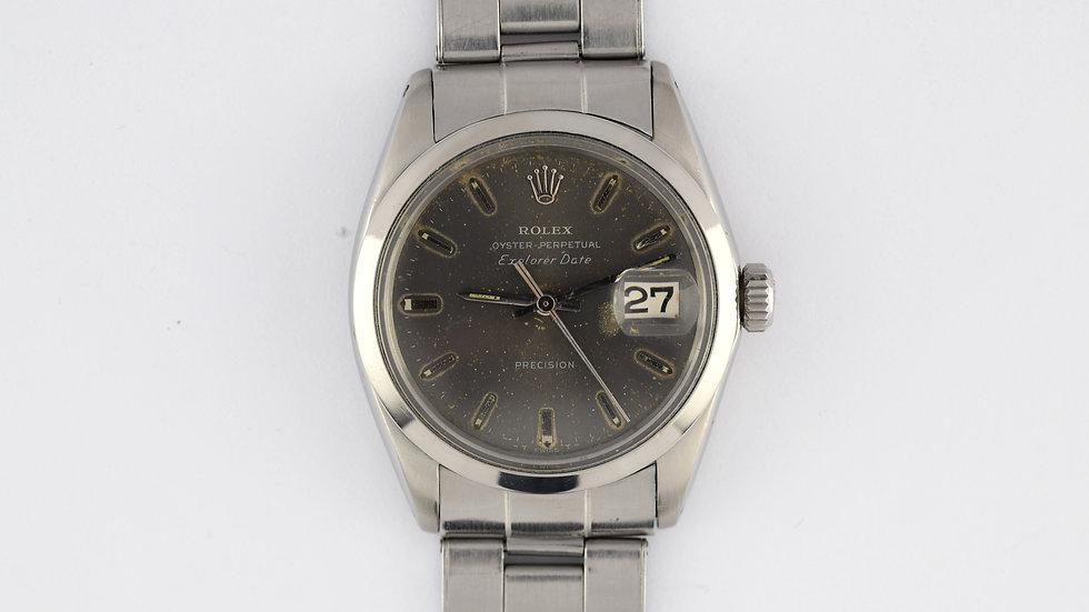 Rolex Explorer Date Ref 5700 Stainless Steel