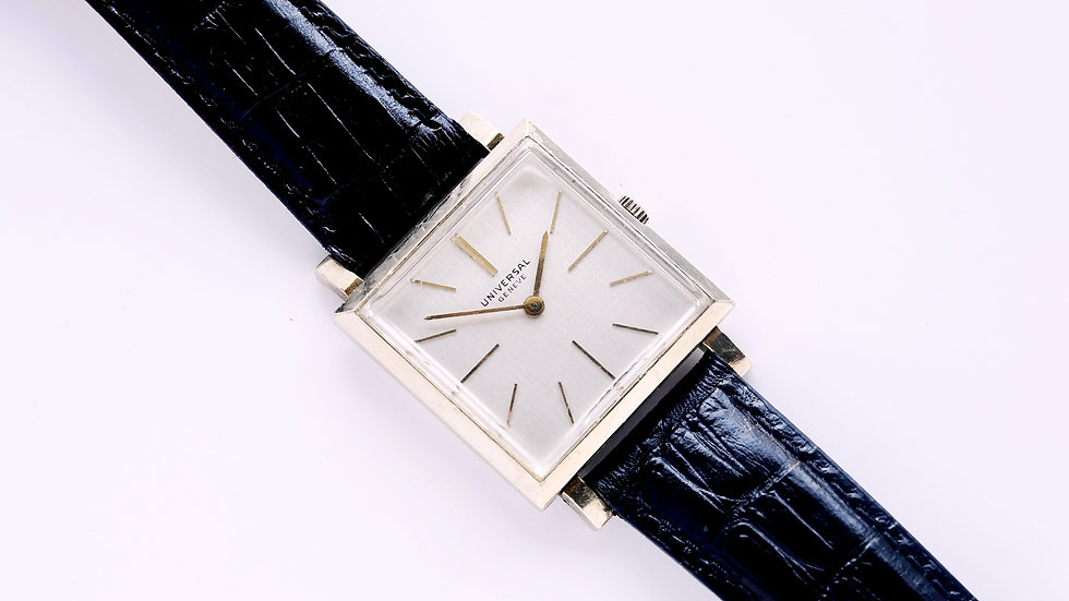 Universal Geneve  Square Manual Wind Serviced