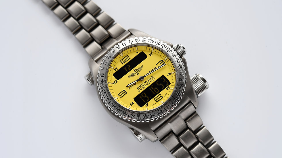 Breitling Emergency E56121 Titanium 43mm