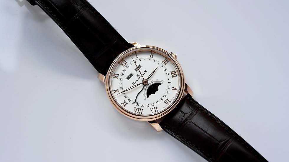 Blancpain Quantieme Complet Rose Gold 6654 3642 55B New 2020