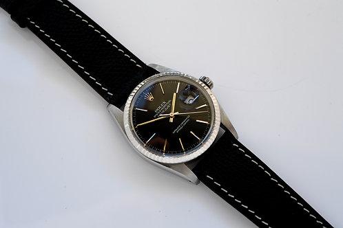Rolex Datejust 16014 Glossy Black Dial 1984