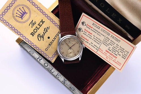 Rolex Oyster Air King Ref 4365 1946 Unpolished Full Set