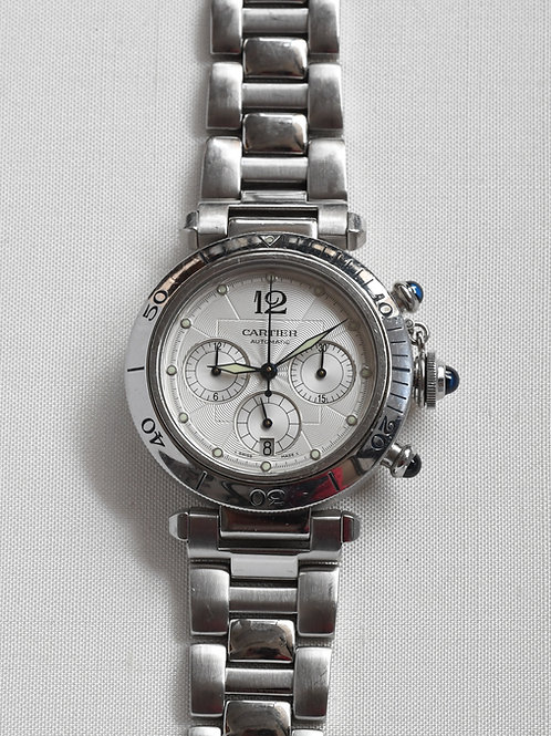 Cartier Pasha 2113 Chronograph Automatic Box Papers