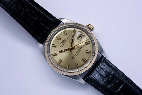 Rolex 1601 Wide BoyPie Pan Dial 1972 Serviced