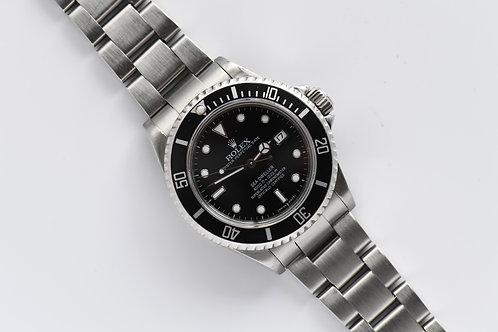 Rolex Sea Dweller 16600 Stainless Steel Serviced