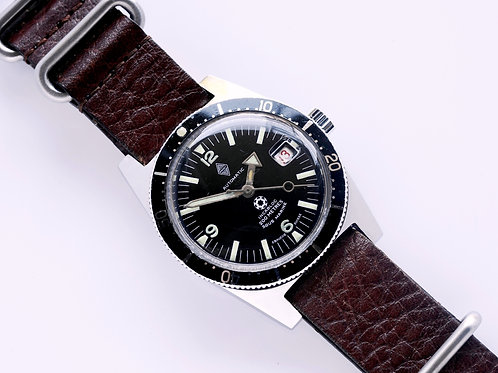 Renault Sous Marine Ebauche Suisse Diver Watch 1960's