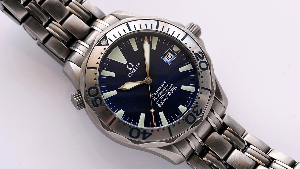 Omega Seamaster Titanium James Bond 2231.80.00