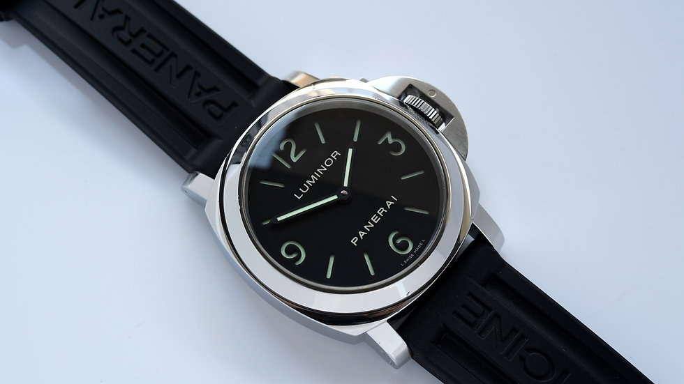 Panerai Luminor Base Pam 112 Black Dial 2008 Full Set