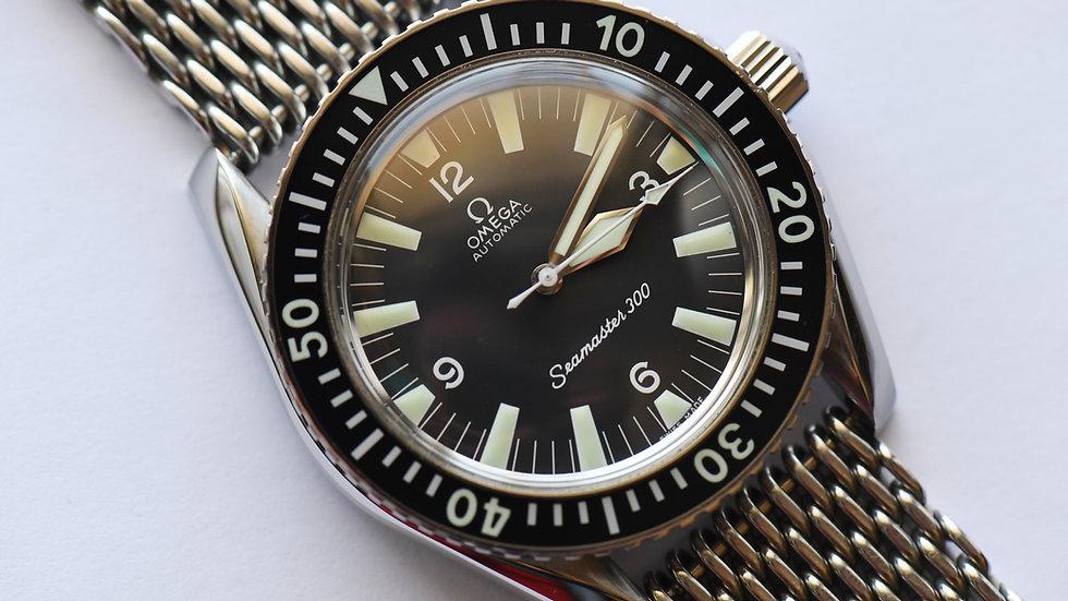 Omega Seamaster 300 166.024 WatchCo Shark Mesh Bracelet