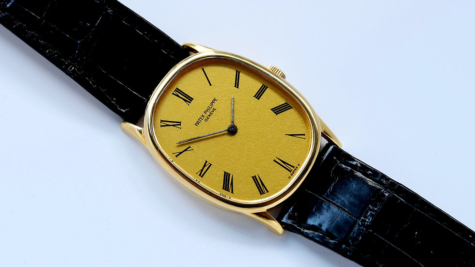 Patek Philippe Ellipse 3846 Gold Dial
