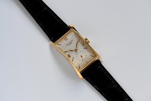 Patek Philippe Hour Glass 1593J 1952 Patek Full Service