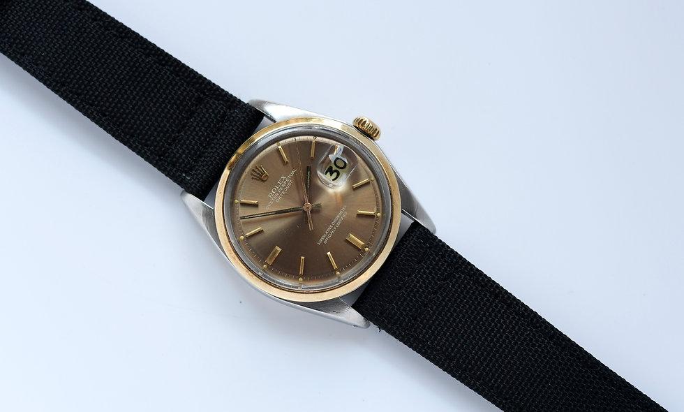 Rolex Datejust 1600 Copper Piepan Dial Two Tone Cal 1570