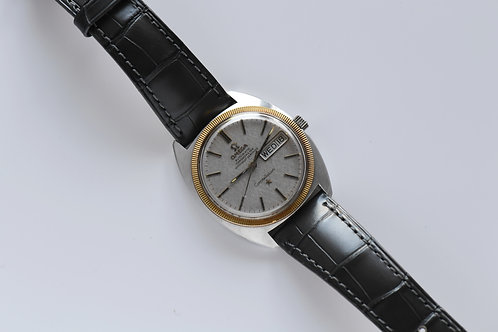 Omega Constellation Two Tone Linen Gray Dial 168.029 1969