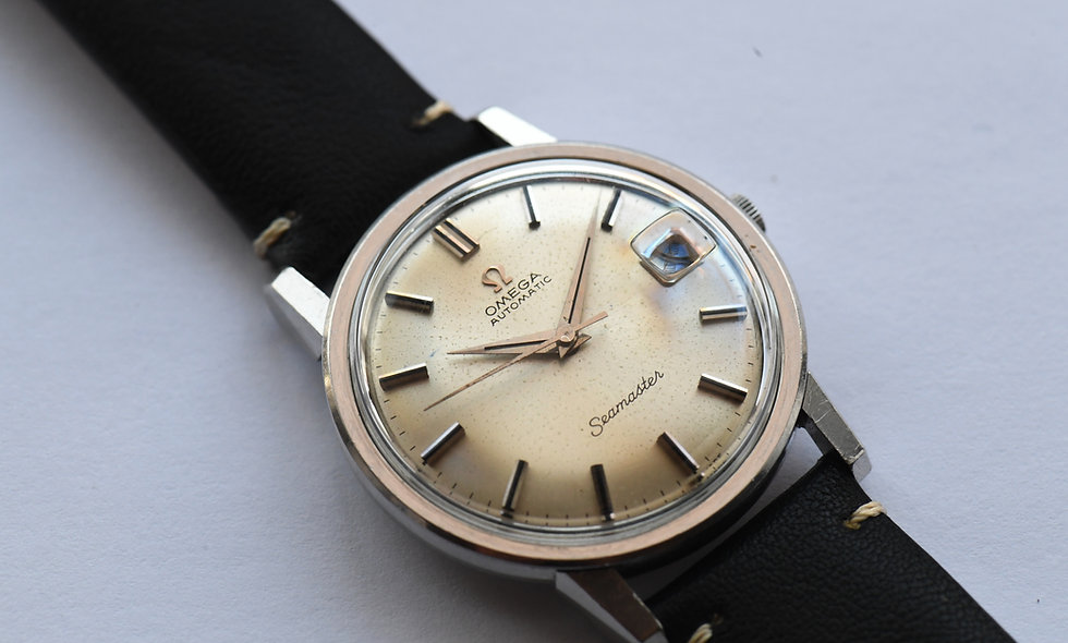 Omega Seamaster 166.003 Stainless Steel Serviced
