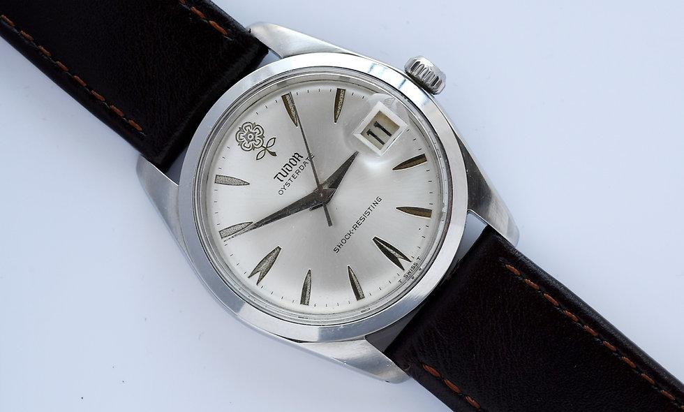 Tudor Prince Big Rose Silver Dial 7962 1965