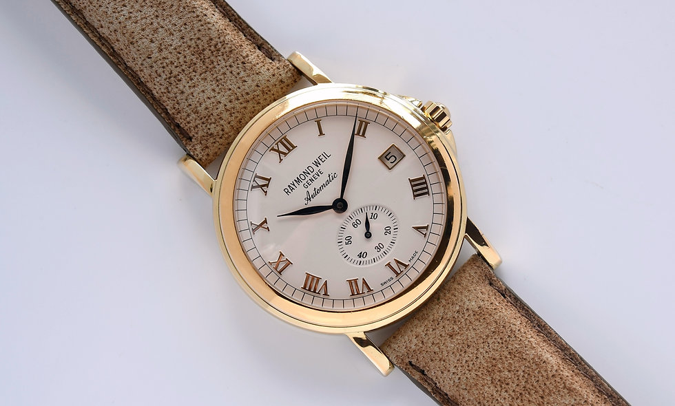 Raymond Weil Tradition Automatic Gold Plated