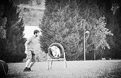 perro salta aro adiestramiento biotxakur sopelana