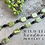 Thumbnail: Yellow Turquoise, Black Jade and Hematite with Crystal Necklace