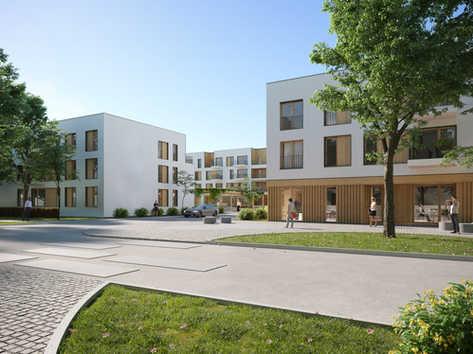 RESIDETNIAL HOUSING COMPLEX IN BIAŁOŁĘKA