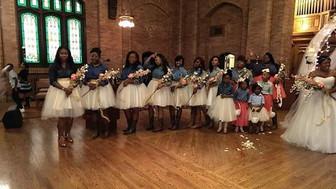 Bridesmaids tulle skirts