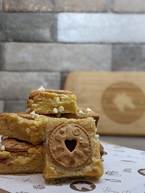 Blondies - The Jammy One (8 Large pcs)