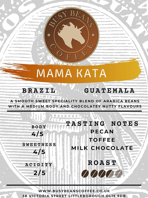 Busy Beans Coffee - Mama Kata Speciality Blend - 250g bag