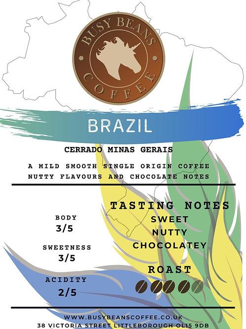 Busy Beans Coffee - Brazil Single Origin - 250g bag