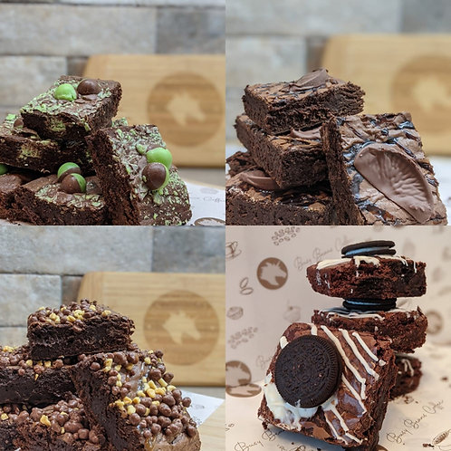 Brownies - Chocolate Lovers Brownie Box (8 Large pcs)