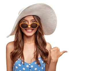cheerful-young-woman-wearing-hat-posing-