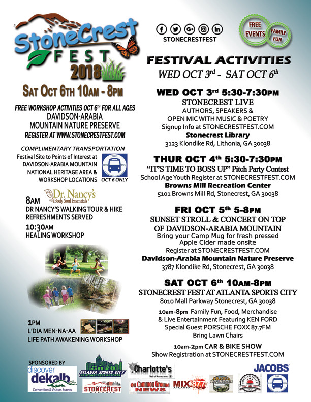 Stonecrest Fest 2018