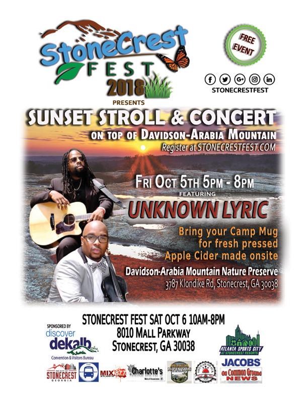 Sunset Stroll & Concert