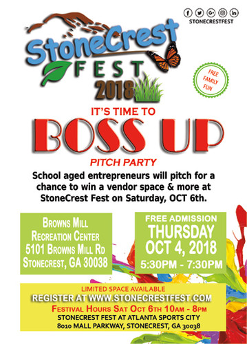 Boss Up Pitch Party