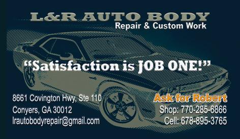 L & R Auto Body