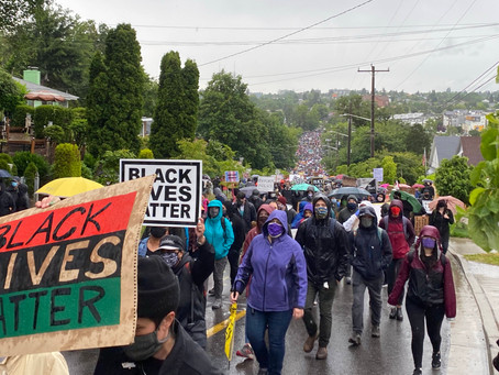 60,000+ at BLM March in Seattle