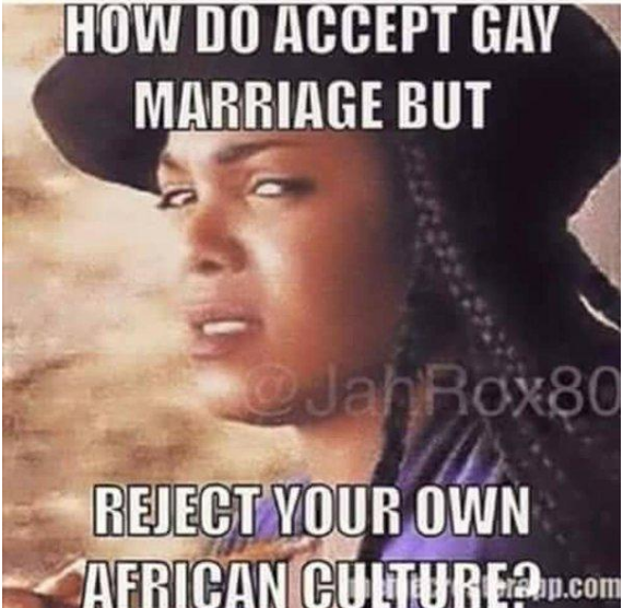 Reject African Culture