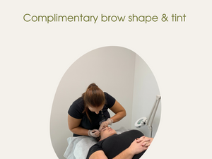 July Special - Complimentary Brow Shape and Tint