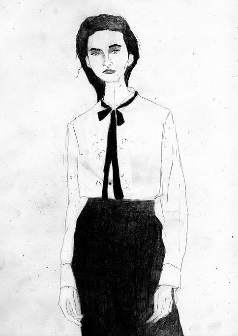 Woman In Tie