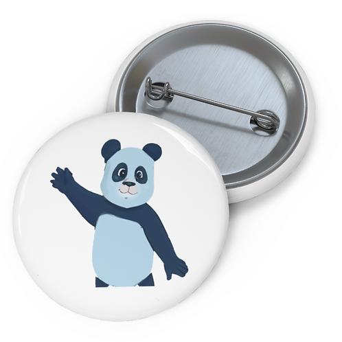 Perry Blue Panda Pin